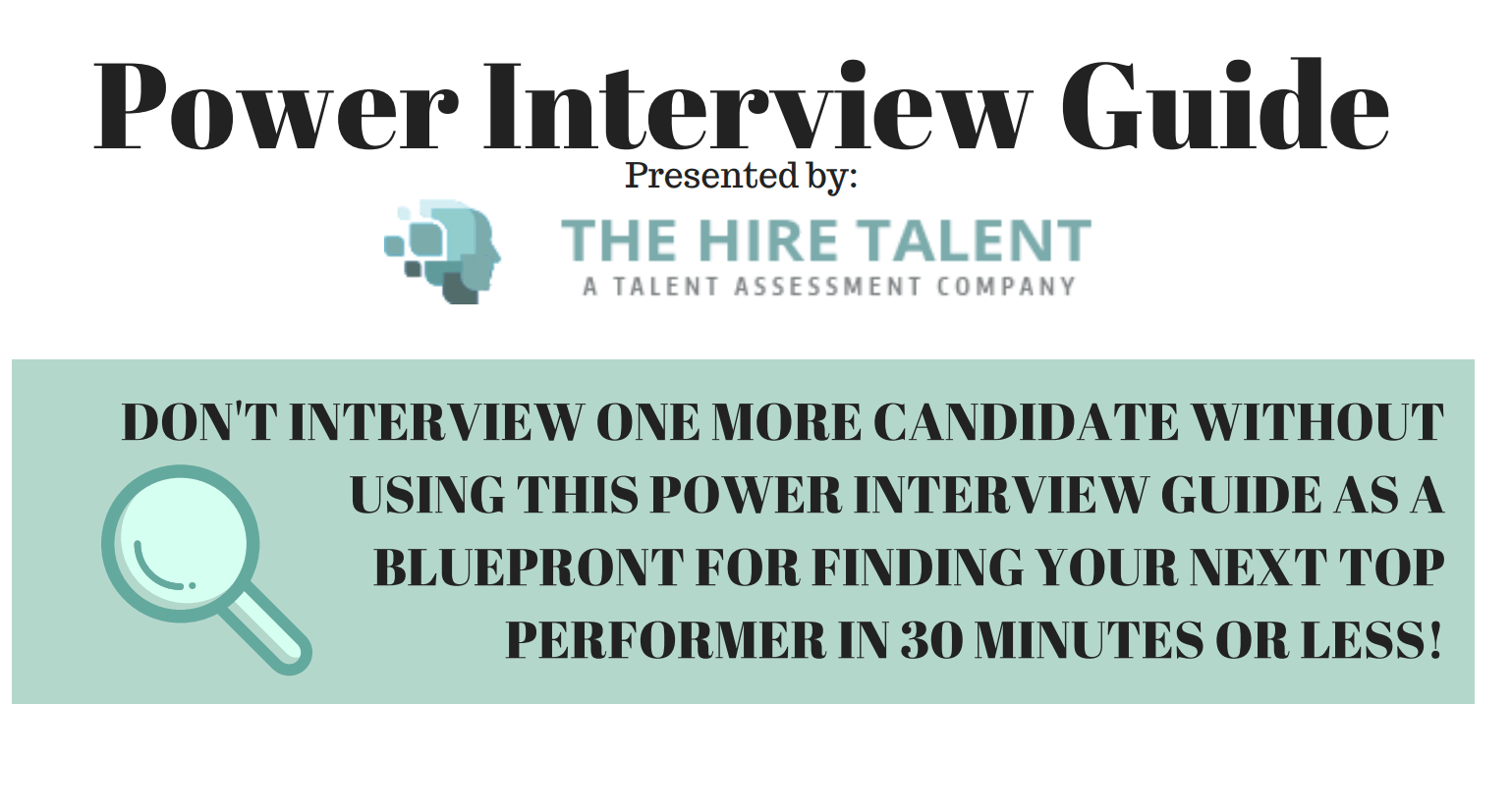 Power Interview Guide