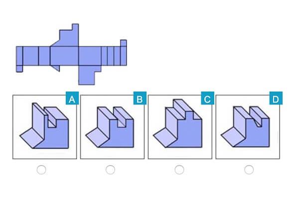 spatial reasoning test sample